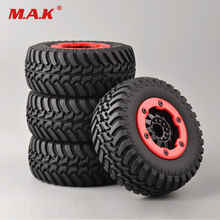 4Pcs RC Car Model Accessory Bead-Lock Wheel&Tires For TRAXXAS Slash Car Set 1:10 Short Course Truck 30004