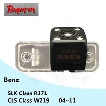Per Mercedes Benz CLS Classe W219 SLK Classe R171 04 ~ 11 HD di Visione Notturna del CCD di Parcheggio Retromarcia della Macchina Fotografica di Backup auto Videocamera vista posteriore