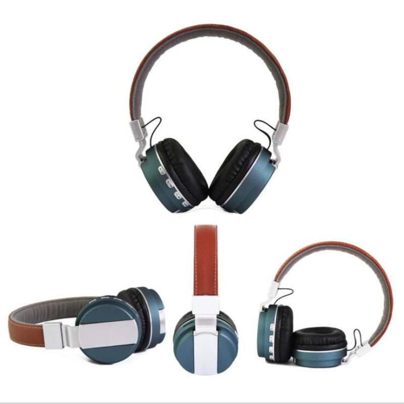 Headband Bluetooth Headset Fashion Folding Stereo Wireless headphones card for a mobile phone xiaomi with microphone magift bluetooth headphones wireless wired headset with microphone for sports mobile phone laptop free russia local delivery hot