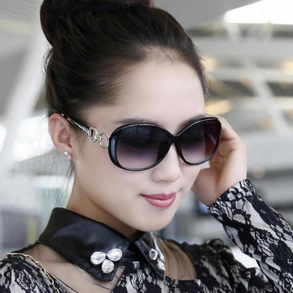 נשים רטרו משקפי שמש ססגוניות בציר גדול מסגרת משקפי משקפי אלגנטי Uv הגנה מחזה A30
