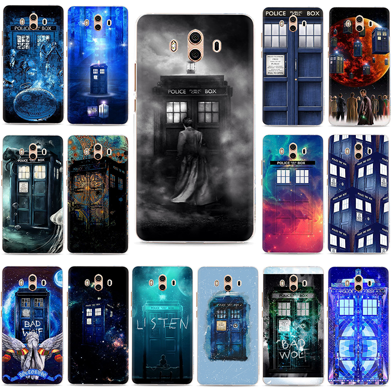 Phone Bags & Cases Able Tardis Box Doctor Who Hard Phone Case For Huawei Y5 Y6 Y7 Prime Y9 2017 2018 Mate 10 20 Pro Lite Nova 2i Lite 3 3i Activating Blood Circulation And Strengthening Sinews And Bones Cellphones & Telecommunications