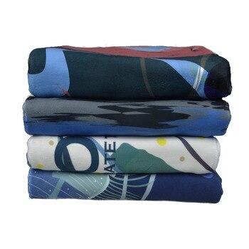 большие пляжные полотенца   LayaTone пляжное полотенце одеяло банное полотенце для ванной комнаты S большое Походное туристическое купальное душ спортивное полотенце S 150*...