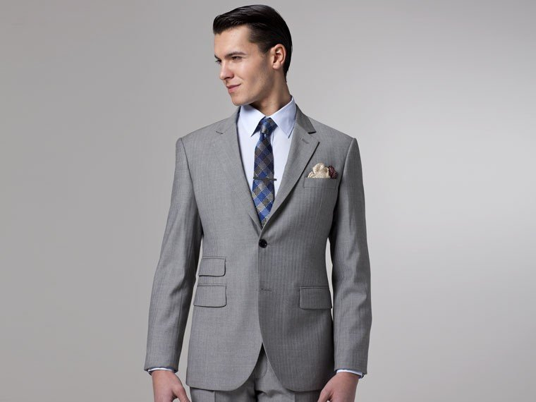 Aliexpress.com : Buy Tailored Made Fashion Suit 2015 Winter Style