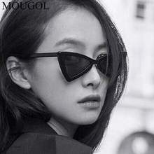 MOUGOL Fashion Style Kids Vintage Cat Eye Children Sunglasses Triangle Shaped Boys&girls Brand Cute Sunglasses Baby Oculos