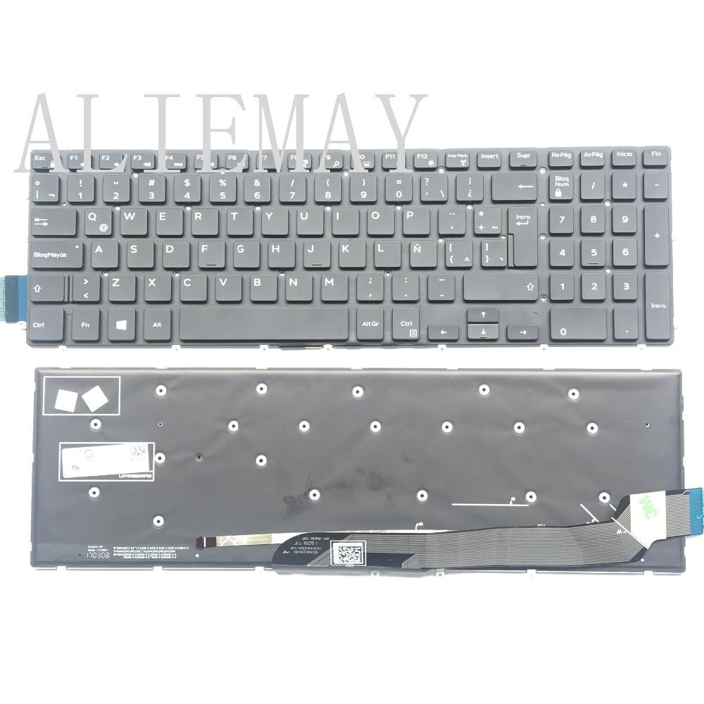 LA SP teclado para Dell Inspiron15 5570, 5575, 7577, 7587, 7568, 7566, 7567, 5567, 5565 15 7000 15-5568, 5765, 5767, 7778, 7779 portátil