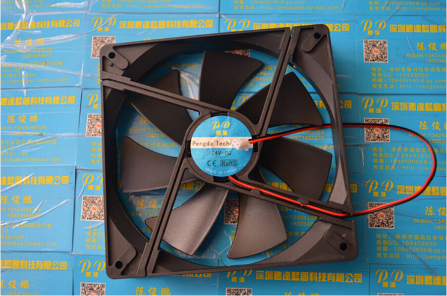 New 14025 <font><b>140mm</b></font> 14cm <font><b>Fan</b></font> computer case Cooling <font><b>fan</b></font> <font><b>12V</b></font> 0.25A 3W with 2wire image