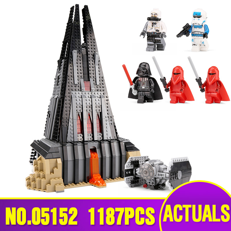 DHL 05152 Star Toys Wars Compatible With The 75251 Darth Vader s Castle Set Building Blocks