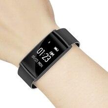 Новый N108 Smart Band 0.96 inch монитор сердечного ритма крови Давление часы с фитнес-трекер умный Браслет PK Xiaomi Mi band 2