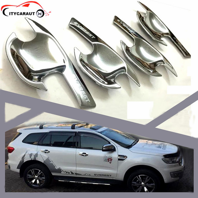 CITYCARAUTO 2015-2017 everest Door Handle bowl cover ABS Black outside handle covers for ford  sc 1 st  AliExpress.com & CITYCARAUTO 2015 2017 everest Door Handle bowl cover ABS Black ...