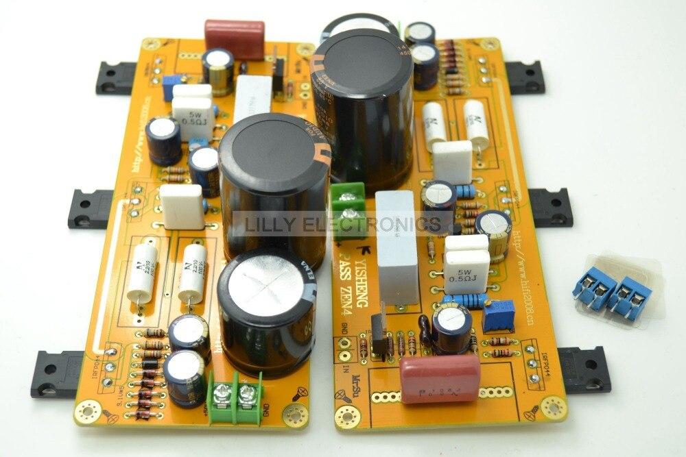 YS 2xPASS ZEN4 Class A 25W+25W Amplifier board IRF044 радиоприемник 25 hifi 25w