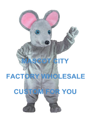Промо акция! Горячая распродажа серый маскарадный костюм с мышкой ростовой костюм мультяшный персонаж Карнавальная вечеринка, косплей