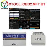Недавно Оригинальный Профессиональный XTOOL iOBD2 Bluetooth OBD2/EOBD Авто сканер Code Reader для iPhone/Android средством диагностики