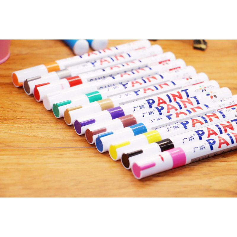 2pcs Mending Car Painting Remover Scratch Repair Paint Pens Clear For Car Styling 12 Colors