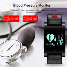 Stylish Smart Watch with Blood Pressure Monitor