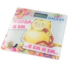 Весы напольные Galaxy GL 4830 (Предел 180 кг, шаг измерений 100 г, ЖК-дисплей, стекло, автовыключение)