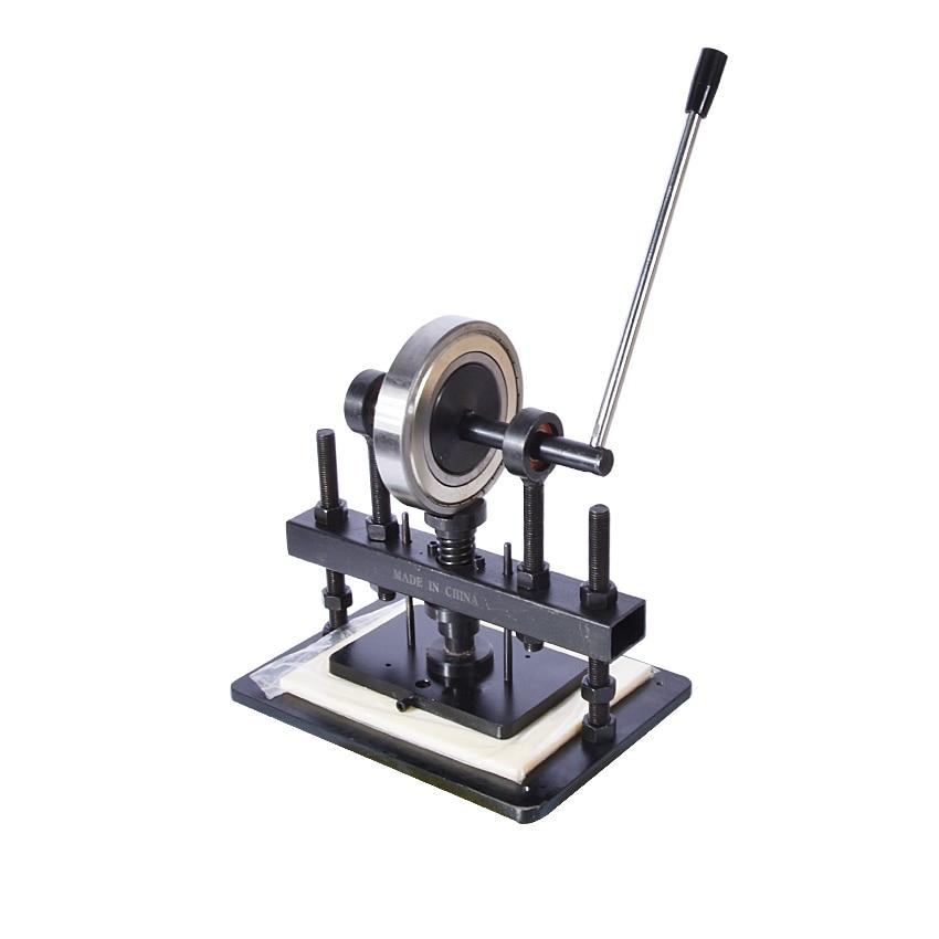 Máquina cortadora de cuero de la mano, papel fotográfico, molde cortador de hoja PVC/EVA, molde para cuero manual/troqueladora máquina de cortar manual