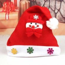Home & Garden 2017 1pc New Kids Santa Snowman Christmas Hat Baby Boys Girls Cute Reindeer Christmas New Year Gifts Caps Beanie For Children