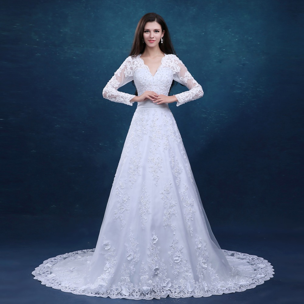 Wedding Gowns Prices In China : Compare prices on wedding dresses sleeves ping