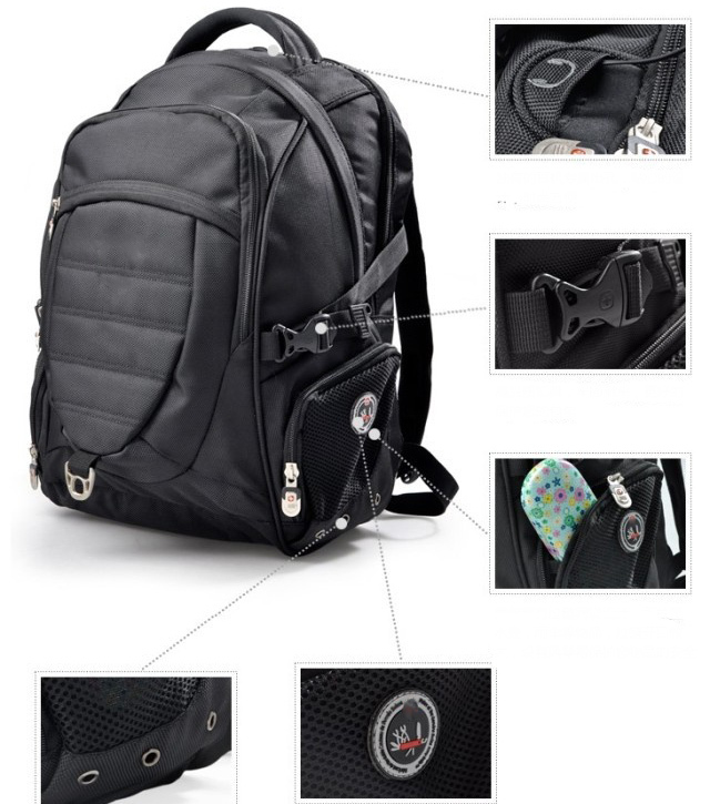 558bba003afe SwissGear Brand laptop backpack Men swiss waterproof backpack swiss gear  backpack swissgear backpack swiss army knife bag-in Laptop Bags   Cases  from ...