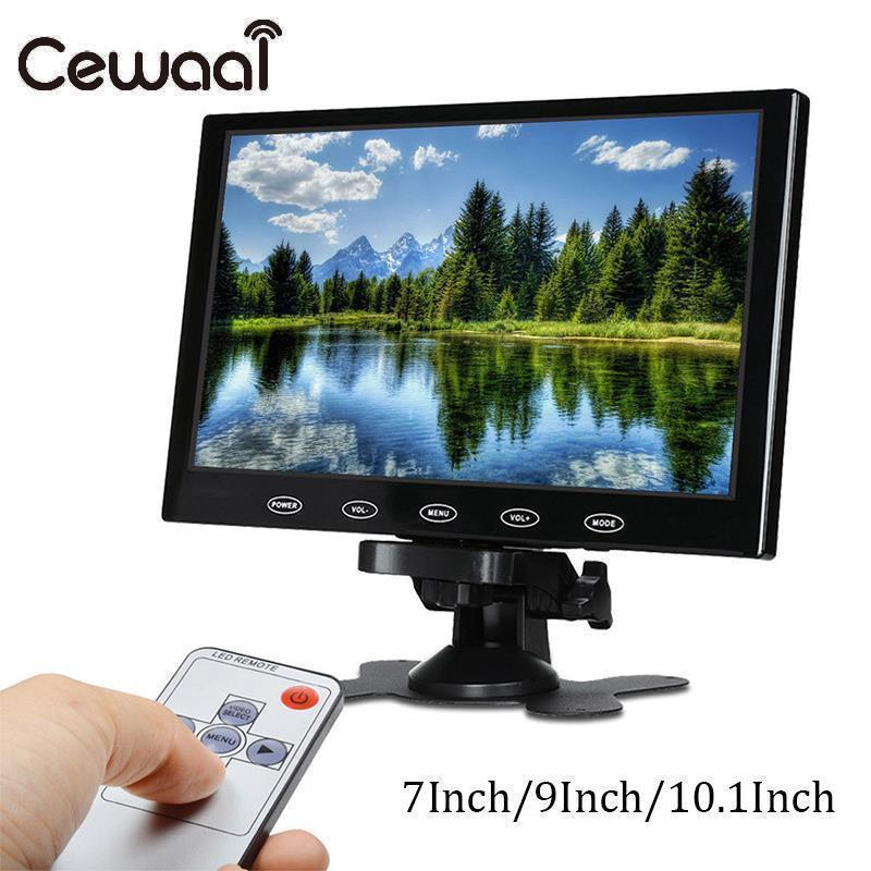 7/9/10.1 HD CCTV Camera LCD PC Liquid Crystal Display PC AV/VGA/HDMI 1024x600 Input Screen Computer Monitor