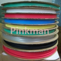 18m EVA Heat Shrink Tubing Shrinkable Tube include three type and six color