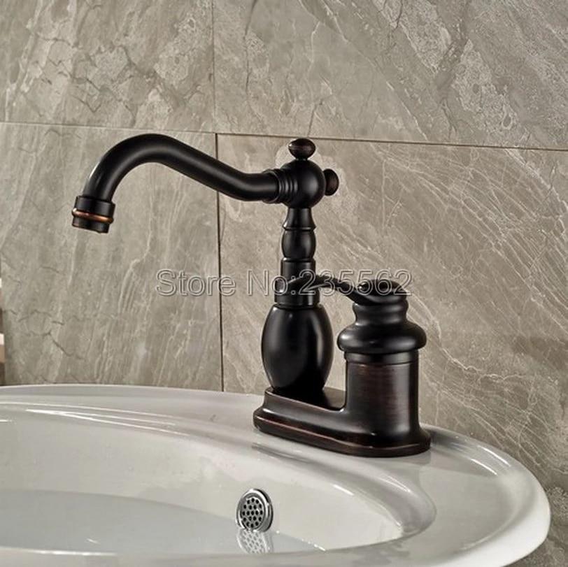 black oil rubbed bronze bathroom basin