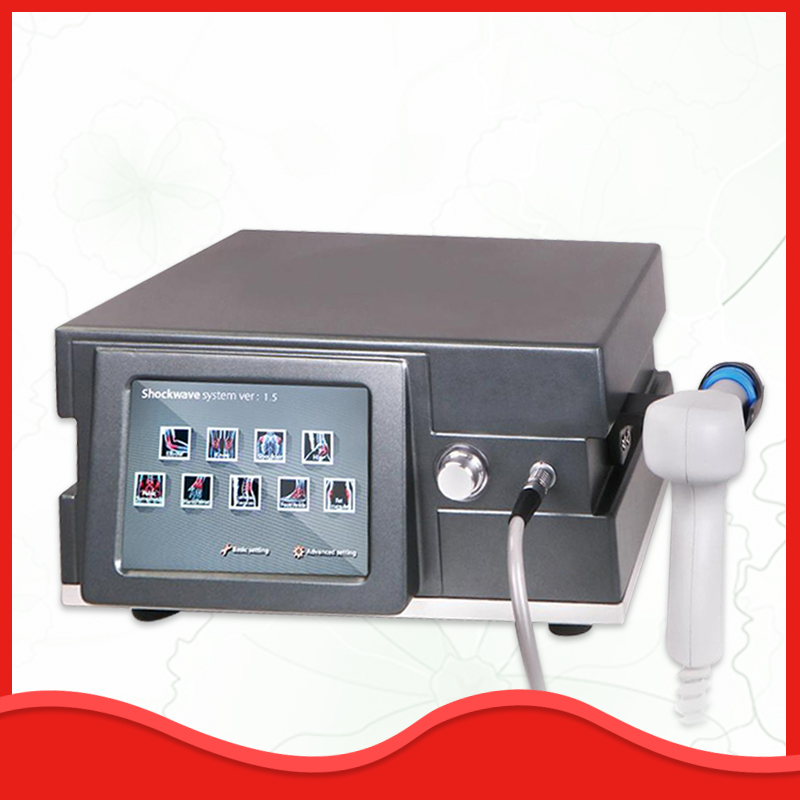 Spa Center Radial Shock Wave Therapy Equipment Pain Relif Acoustic Wave Ultrasonic Weight Loss Slimming Machine