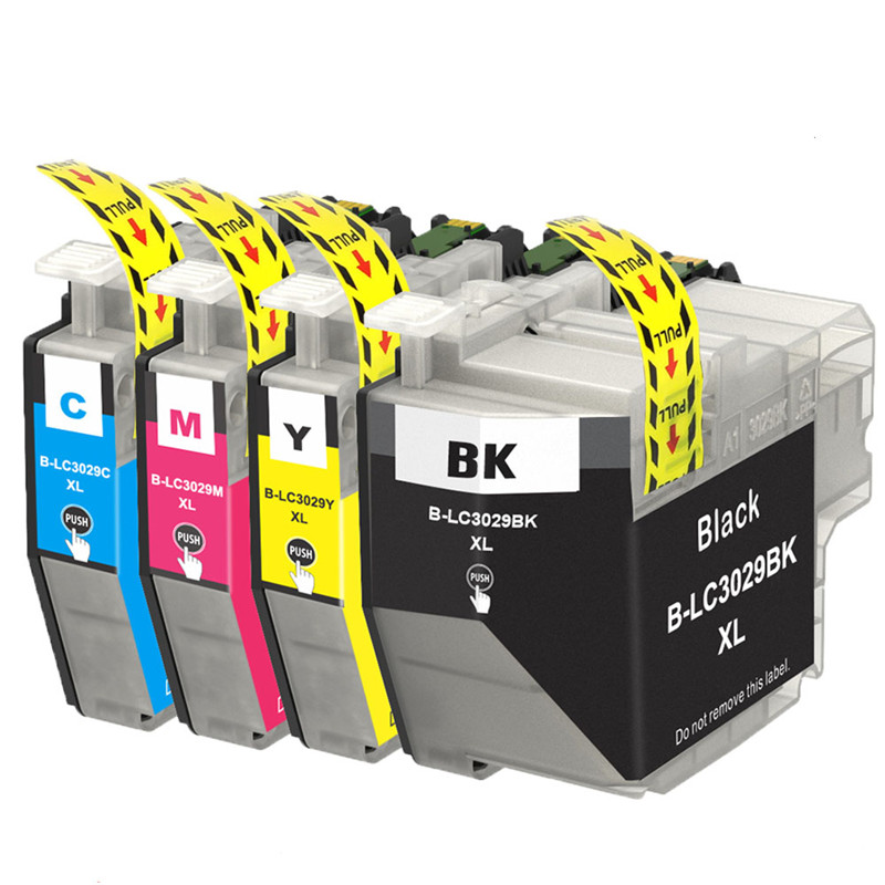 4PK LC3029 XL Ink Cartridges Replacement For Brother Printers MFC-J5830DW MFC-J5830DW MFC-J5930DW MFC-J6535DW MFC-J6535DW