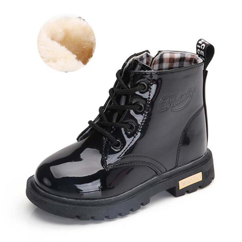Waterproof Solid Jelly Color Martin Boots 4