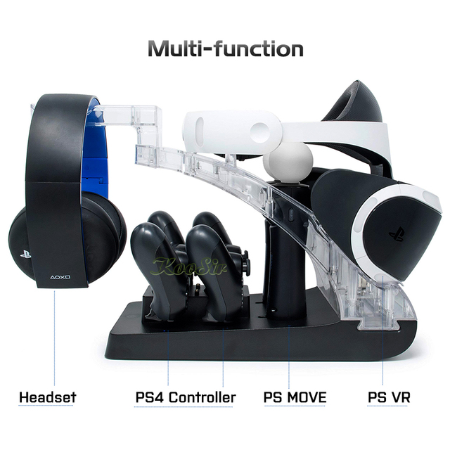 Charging Dock Station & Stand Holder for PSVR