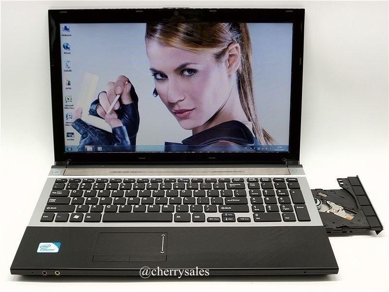 Prix pour 8G + 1 TB 15.6 pouces Quad Core Rapide Surf Windows 7/8. 1 Portable PC Ordinateur portable avec DVD ROM pour l'école, bureau ou à la maison