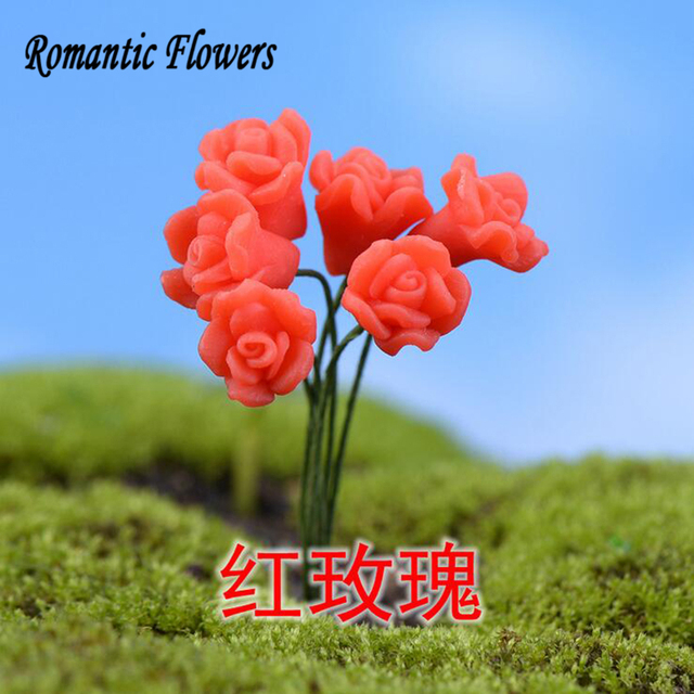 10pcs Seven Kinds Of Simulation Flowers , Garden Ornaments / Calla Lily /  Tulip Furniture Assembly