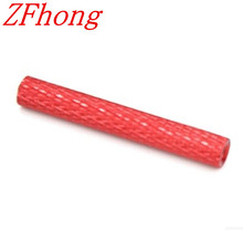 20pcs M3*6/8/10/15/20/25/30/35/40/45/50 diamond surface knurled FeMale to Female Aluminum Standoff Spacer length 6 50