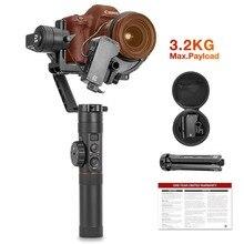 Zhiyun Crane 2 3-осевой ручной шарнирный стабилизатор для камеры GoPro с лампой накаливания для непрерывного изменения управление фокусировкой для всех DSLR и беззеркальных Камера до 3,2 кг