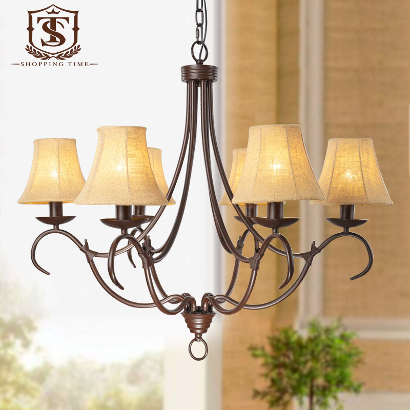 popular rustic chandelier shades buy cheap rustic chandelier shades lots from china rustic. Black Bedroom Furniture Sets. Home Design Ideas