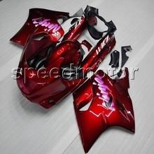 Parafusos + tampa da motocicleta RED ZZR 1100 90 92 93 94 95 96 97 98 99 00 01 carenagem carenagem para Kawasaki ZZR1100 ZX1100 1990-2001 1999