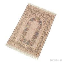 70*110cm Thin Chenille Islamic Muslim Prayer Mat Salat Musallah Prayer Rug Carpet Tapete Banheiro Islamic Praying Mat Drop Ship