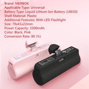 Image 5 - Mini caso carregador de bateria para iphone x/xs/xr/8/8 plus/7/7 plus/6/6 s/6 plus se power bank pacote de carregamento caso capa para xiaomi oppo