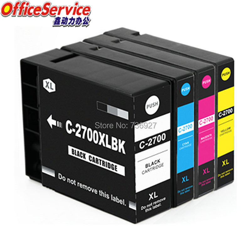 PGI 2700 pgi2700 2700XL Compatible  ink Cartridge For Canon MAXIFY  iB4070 MB5170 MB5470 IB4170 MB5370 MB5070 inkjet printer|Ink Cartridges| |  - title=