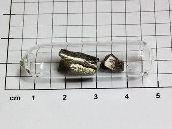 Europium Metal 99.95% - 5 grams shiny pieces in ampoule under argon!