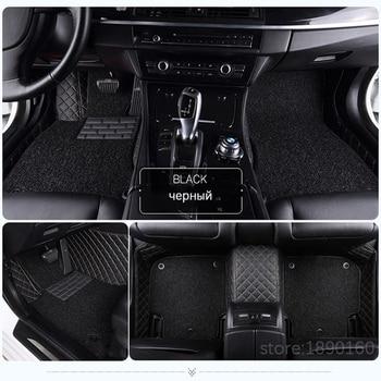 Custom car floor mats for Ford all models mondeo Focus Fiesta Edge Explorer Taurus S-MAX auto accessories styling