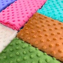 Cobertor de costura em 30 cores, brinquedo de pelúcia super macio 45x45cm, 1 peça tecido ecológico