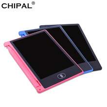 CHIPAL 4,4 Inch LCD Schreiben Tablet Mini Digital Graphic Tablet Elektronische Handschrift Bord Zeichnung Pad Notizblock + Stift für Kinder