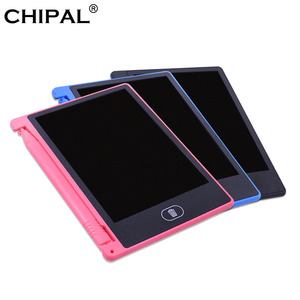 CHIPAL 4.4 Inch LCD Writing Tablet Mini Digital Graphic Tablet Electronic Handwriting Board Drawing Pad Notepad + Pen for Kids(China)