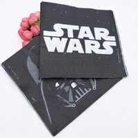 20 teile/satz Star Wars Thema Party Papier Einweg Serviette Papier Tissue für Kinder Geburtstag Partei Liefert Party Dekorationen Kinder