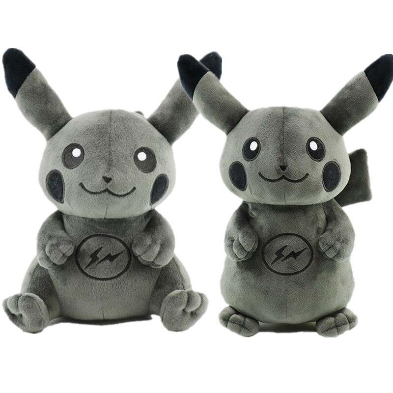 Toys & Hobbies Humble 20-70cm Black Pikachu Plush Toy Fragment Dark Lightning Pikachu Dolls Cute Anime Game Toys For Children Kids Gifts Movies & Tv