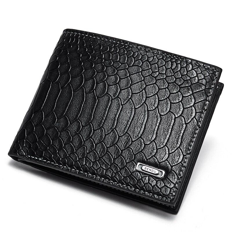 BOSTANTEN Vintage Wallets Coin-Pocket Money-Clip Zipper Men Fashion Pu with Small Purse