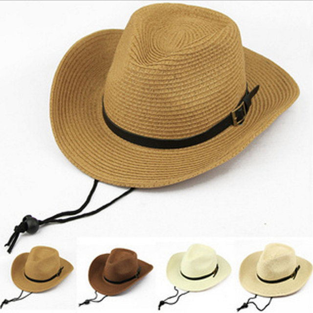 Foldable Men s Western cowboy hat ba367a8c89d