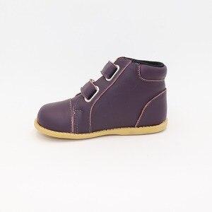Image 5 - Tipsietoes 2020 nowe zimowe dziecięce buty skórzane Martin połowy łydki dzieci śnieg dziewczyny chłopcy kalosze moda Sneakers