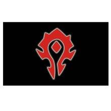 World of Warcraft Alliance Horde Banner Flag Decoration banner90*150cm/ 3x5ft WOW flag for hanging